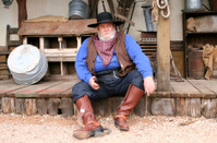 Cowboy Sitting