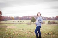 Pregnant on the farm