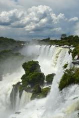 Storm clouds over Iguacu Falls, Argentina