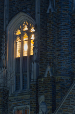 Window light in night time