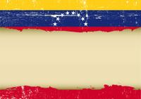 Venezuelan scratched flag