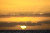 Orange Hard Sun