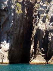 cave at sea
