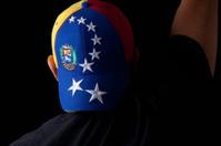 Venezuelan flag in hat