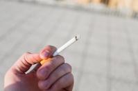 cigarrette in hand