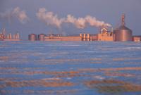 Potash Industry and Factory Saskatchewan