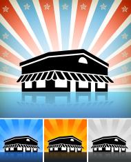 식당 아이콘 블랙 시리즈 스톡 사진 - FreeImages.com