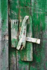 Old Door With Latch