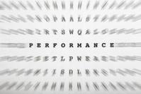 Crossword letters, focus on word performance