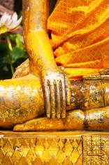 Detail of buddha