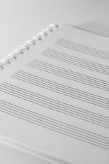 Manuscript plain white