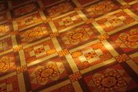 Victorian tiled floor.