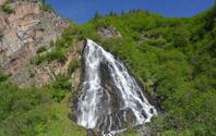 Horsetail Falls, Alaska, USA