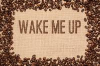 Coffee Beans on Jute - Wake me Up!
