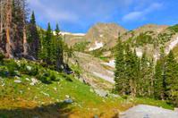 high altitude alpine tundra in Colorado during summer