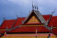 Temple in Cambodian Village Siem Reap