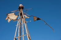 Broken wind pump