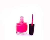 Opened pink nail polish
