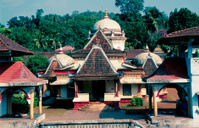 Nagueshi Temple near Ponda, Goa, India