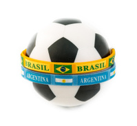 Brazil and Argentina Rivals in the Soccer Arena