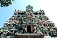 Meenakshi temple, Hindu pilgrim centre,