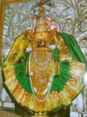 Goddess Mahalaxmi, Kolhapur, Maharashtra, India