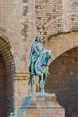 Ramon Berenguer III monument, Count of Barcelona