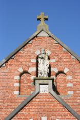 Ancient Medieval Chapel in Beauvechain Belgium