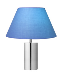 Modern Blue Lamp
