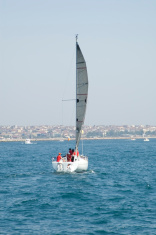 Sailing on Bosphorus / Istanbul