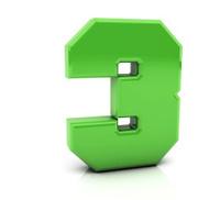3d Number three
