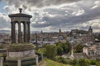 View of Edinburgh from Calton Hill