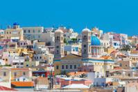 Ermoupolis at Syros island in Greece