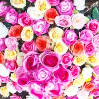 Rose fake flowers