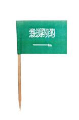 Saudi arabian paper flag