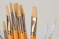 New paintbrushes