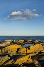 Coastal Rocks and rocky seascape