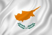 Agitando Bandera DE Chipre fotografas de stock  FreeImagescom