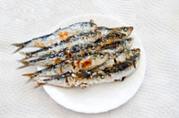 Espeto sardines