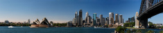 Sydney morning panorama XXXL