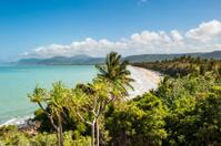 Port Douglas Beach on a sunny spring day