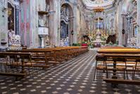 Cervo, Italian Riviera, church of St. John the Baptist