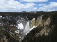 Beautiful Yellowstone Falls