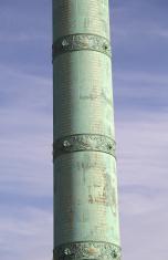 July Column on the Bastille place, Paris, France.