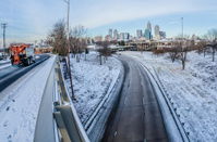 snow plowed public roads in charlotte nc