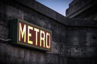Metro-Sign in Paris