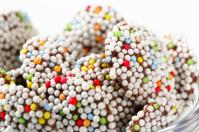 Chocolate sprinkle cookies