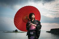 Japanese Kimono model 3