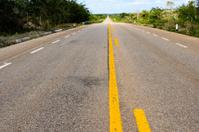 Long straight road -XXXL