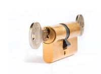locked - under lock and key
